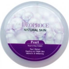 Deoproce Natural Skin Pearl Nourishing Cream 100g