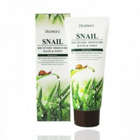 Deoproce Snail Recovery Moisture Hand Foot Cream 100g